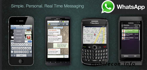 chatting application for mobile phone