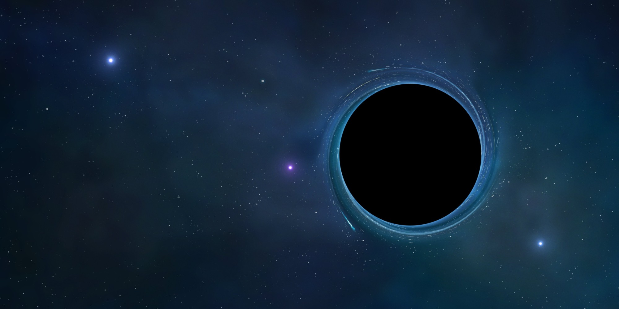 Ever heard about a black hole sun? THIS is it ...