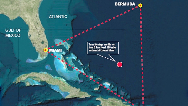 the devil behind the bermuda triangle During the past century more than 50 ships and 20 aircraft sailed into oblivion in  the area known as the devil's triangle, bermuda triangle,.