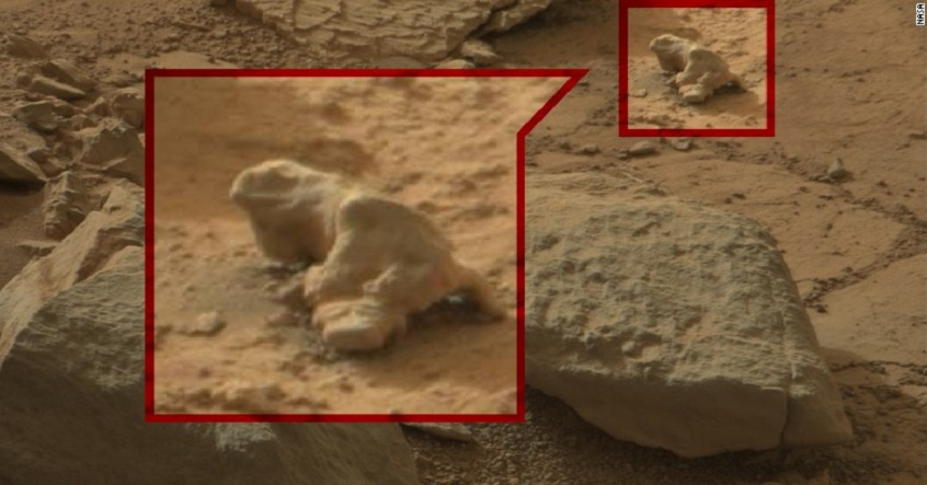 Were There Evidences Of Life On Mars Available With Nasa